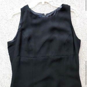 Flattering Black Tank Shift Dress LBD